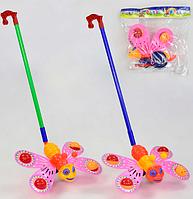 Игрушки для девочек.Палка-каталка для детей.Развивающая каталка для детей.