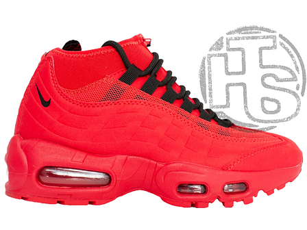 c0c860e474 Женские кроссовки Nike Air Max 95 Sneakerboot Red 806808-200, фото 2