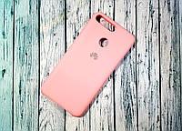 Чехол-накладка Original Soft Case Huawei Y6 Prime 2018 Pink