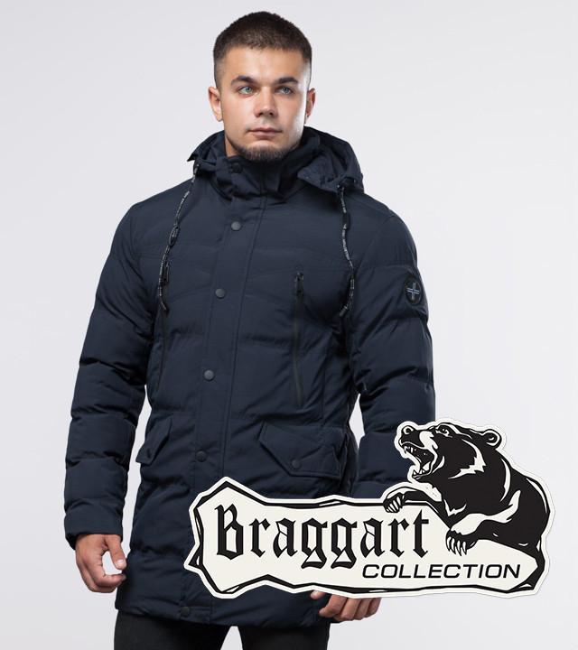 13-25 лет | Молодежная куртка Braggart Youth 25320 синяя