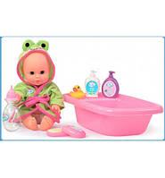 Кукла с ванночкой для купания