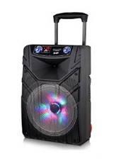 Акустическая переносная система EUROMAX EU-1507 USB/SD/FM/Bluetooth/Microphone + бесплатная доставка