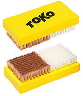 Щетка Toko Base Brush Combi (Нейлон/Медь)