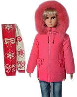 Детская куртка с шарфиком