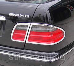 Окантовка задних фонарей Mercedes W-210