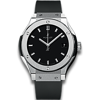 Часы Hublot Classic Fusion TITANIUM 42mm. Реплика: ААА