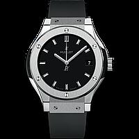 Годинник Hublot Classic Fusion TITANIUM 42mm. Репліка: ААА, фото 1