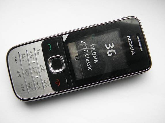 Корпус nokia 2730 чёрный + клавиатура AAA, фото 2