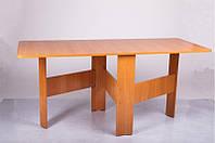 Стол трансформер Книжка цвет вишня оксфорд, ламинированное ДСП