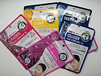 Набор тканевых масок+силиконовая маска в ПОДАРОК!!! Япония , фото 1