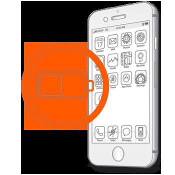 Замена аккумулятора, батареи на iPhone 7 Plus