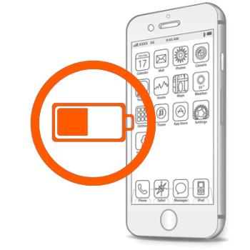 Замена аккумулятора, батареи на iPhone 6