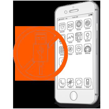 Замена разъема зарядки на iPhone 6s Plus