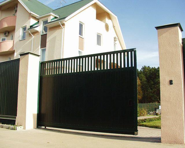 Откатные ворота DoorHan 4000 х 2300