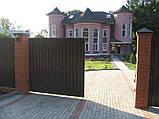 Сдвижные ворота DoorHan 4000 х 2100 , фото 2