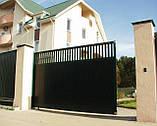Сдвижные ворота DoorHan 4000 х 2100 , фото 3
