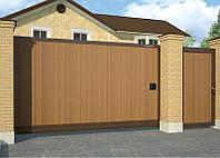Сдвижные ворота DoorHan 4000 х 2100 , фото 1