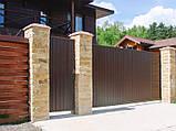 Сдвижные ворота DoorHan 4000 х 2100 , фото 6