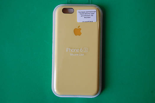 """Apple Silicone Case"" для iPhone 6 / 6S Mountain"
