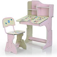 Парта детская со стульчиком HB-2071(2)-04-7 Гарантия качества Быстрая доставка