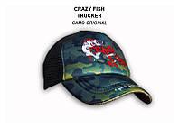 Кепка Crazy Fish Camo Original