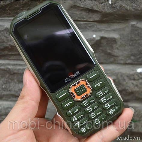 Телефон Land Rover Giowee T19 Green 3-SIM, фото 2