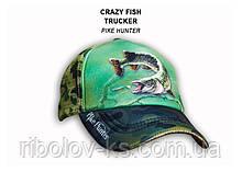 Кепка Crazy Fish Pike Hunter