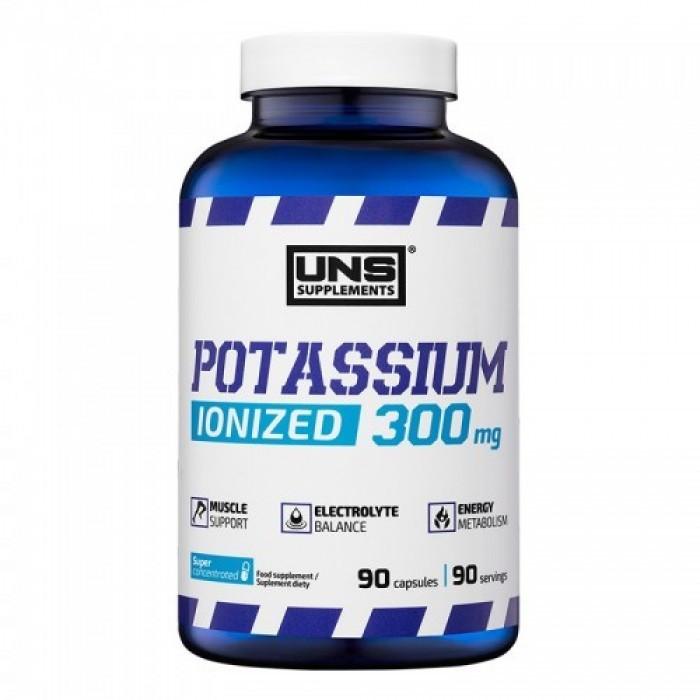 Potassium Ionized 300 mg UNS 90 caps