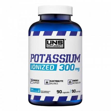 Potassium Ionized 300 mg UNS 90 caps, фото 2