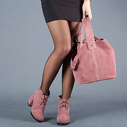 Сумка-мешок замшевая женская. Цвет любой под заказ.