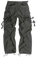 Брюки Surplus Vintage Fatigue Trousers (Schwarz Gewas)