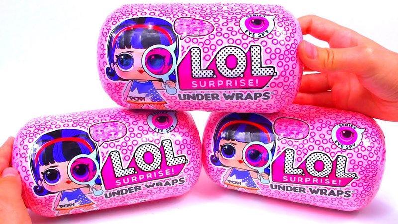 Кукла L.O.L в капсуле / L.O.L.Surprise Under Wraps S4 - Секретные меседжи Шпионы в дисплее