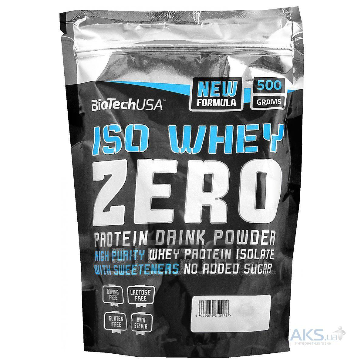 Протеин BioTech USA Iso Whey Zero 500g тирамису