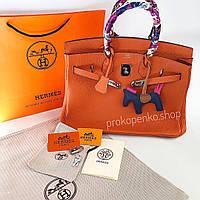 6bd1c8acd18f Сумка стиль Hermes Birkin. По рейтингу; Дешевые · Дорогие · Hermes  Оранжевая 35см