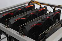 TI-miner (Top) GPU 4 Sapphire Radeon RX Vega 64 8G