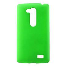Чехол накладка пластик Rubberized для L Fino Dual D295 зеленый