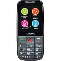 Мобільний телефон Sigma mobile Comfort 50 Elegance3 DS Grey