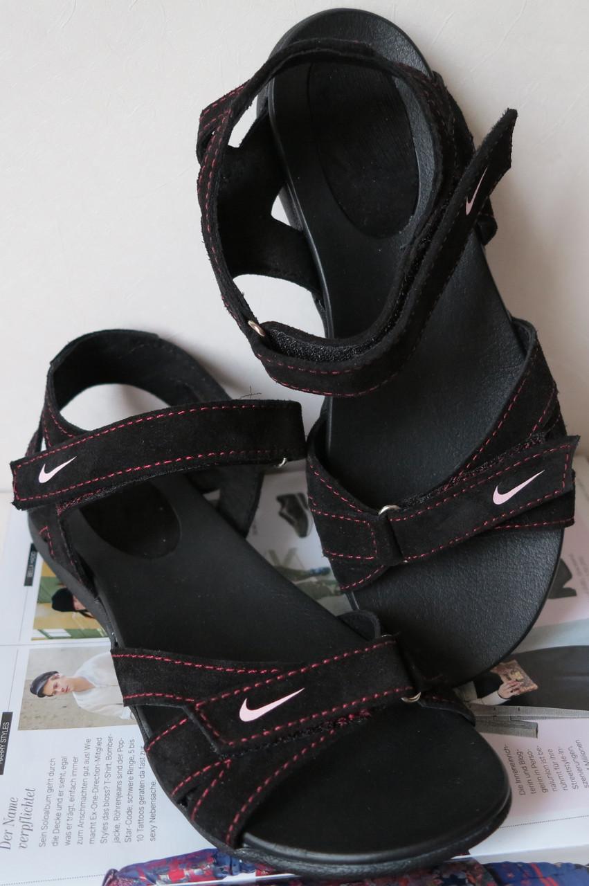 Кожаные !женские! сандалии реплика сандали !босоножки! летняя обувь спорт ! 516b9b186f8