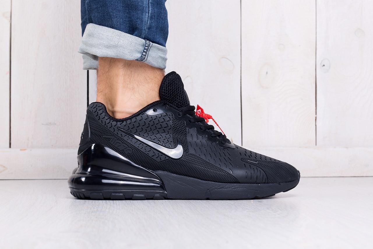 Кроссовки мужские Nike Air Max 270 черные топ реплика