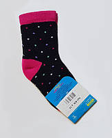 """Носки махровые """"Горошек"""", размер 14 / 21-23р."""