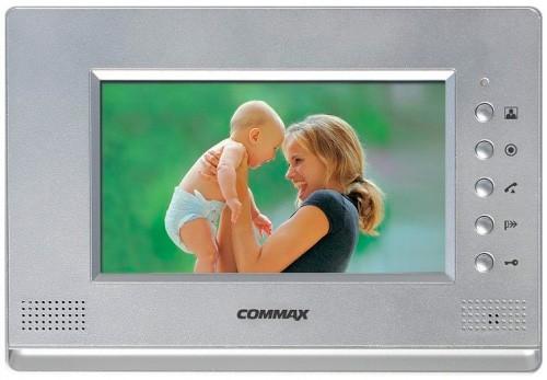 Видеодомофон Commax CDV-71AМ Silver, Black
