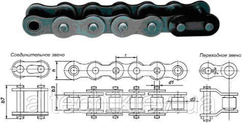 Приводные роликовые и втулочные цепи ГОСТ 13568-75