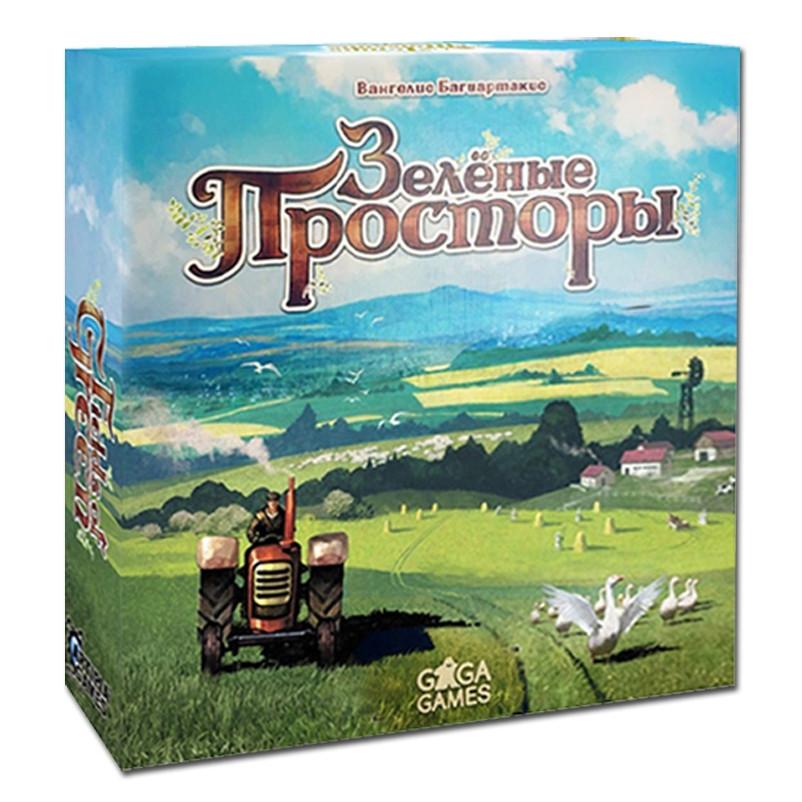 Настольная игра Зеленые просторы (Fields of Green) рус.