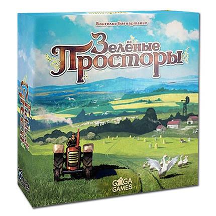 Настольная игра Зеленые просторы (Fields of Green) рус., фото 2