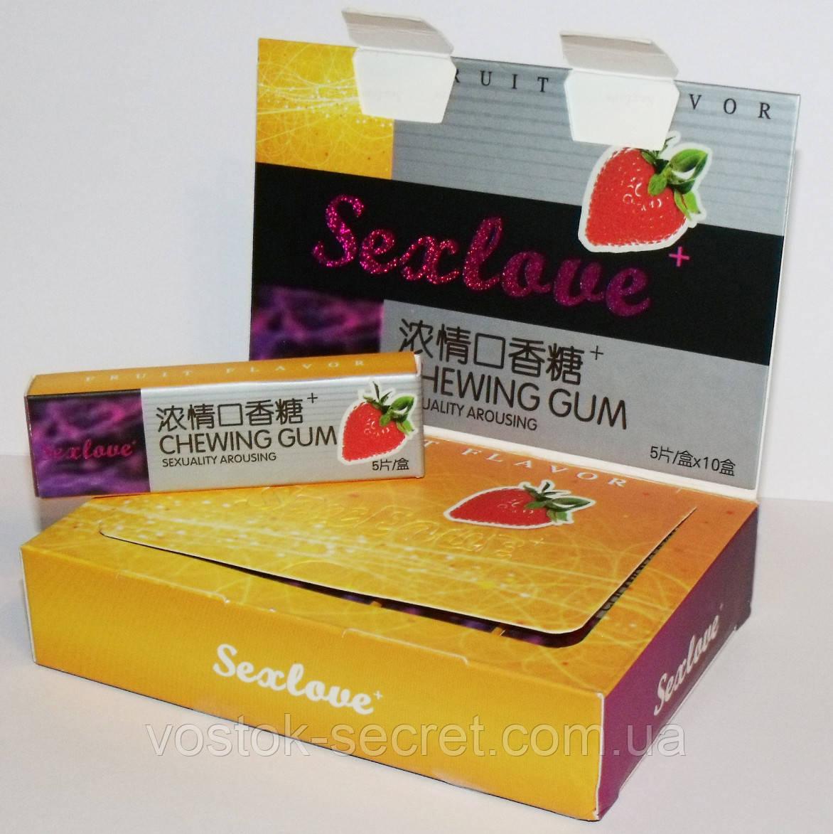 Жвачка для секса sex guns