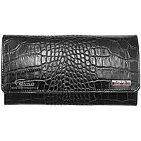 Женский кошелек кожаный черный  Butun 592-002-001, фото 1