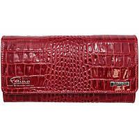 Женский кошелек кожаный красный  Butun 592-006-006, фото 1