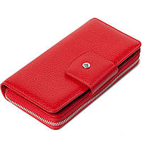Женский кошелек кожаный красный Eminsa 2149-12-5, фото 1