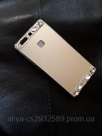 Серебряный чехол для Huawei P9 Plus