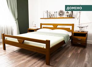 """Кровать """"Домино"""" из натурального дерева (сосна, ольха)"""